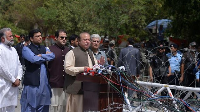 Pakistani Premier Nawaz Sharif dismisses graft report as 'slander'