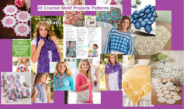 Crochet Motif Patterns 35 Projects and Patterns for Fashion, Home Decor and More