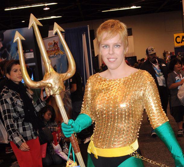 aqua woman cosplay