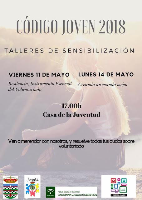 """Talleres """"Código Joven"""" en Villanueva del Trabuco"""