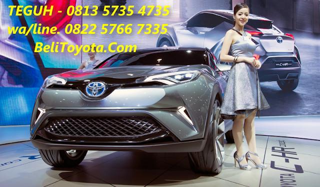 Toyota C-HR Di Indonesia Akan Bersaing Dengan Honda HR-V?