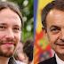 """Pablo Iglesias: """"Zapatero ha sido el mejor presidente de la democracia"""""""