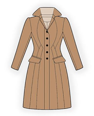 Lekala Patterns - Burberry Inspired Coat
