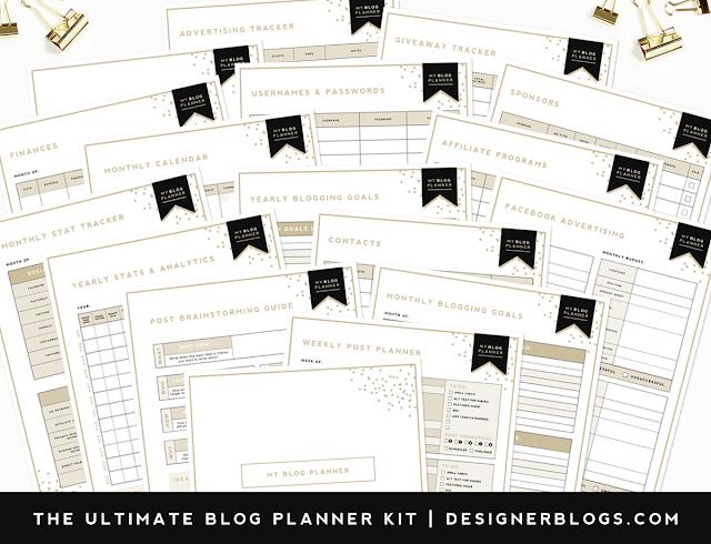 Ultimate Blog Planner Free Printable