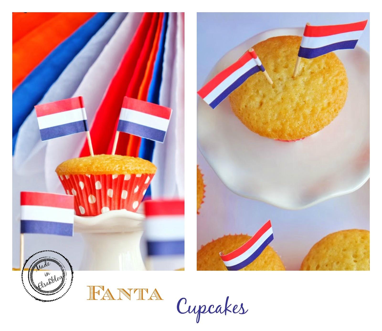 Fanta cupcakes