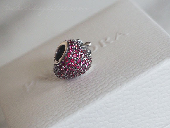 Pandora Pavé Strawberry Charm.