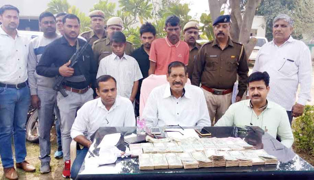 Faridabad Crime Branch Central settlement 3 cases, stolen goods recovered