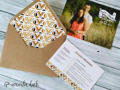 invitación boda foto
