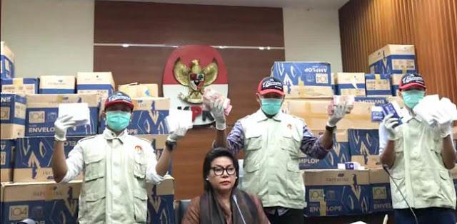 3 Kardus Sudah Dibuka, KPK Temukan Cap Jempol Pada Amplop 'Serangan Fajar' Bowo Sidik