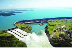 Itaipu Dam Hydroelectric Plant Brazil, Power Plant Terluas Di Dunia