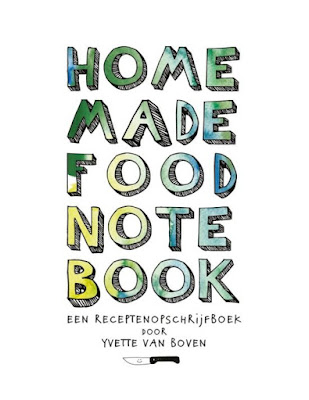 Homemade food notebook