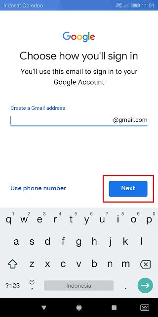 memilih alamat email yang bagus