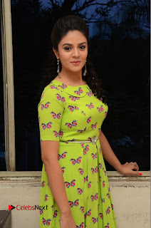 Actress Sri Mukhi Latest Pictures in Green Dress at Mental Movie Audio Launch  0049.JPG