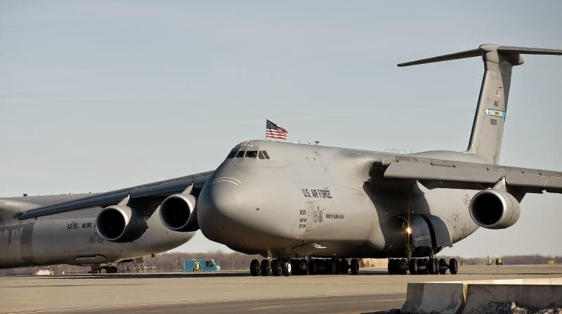 c-5 cargo plane Lackland AFB