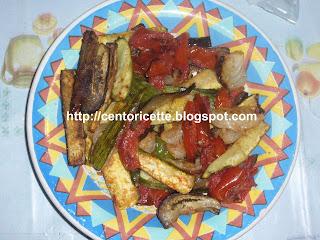 Verdure semplici al forno