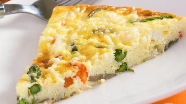 Omelete de Forno para Dieta (Imagem: Reprodução/Mundo Boa Forma)