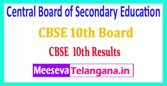 CBSE 10th Central Board of Secondary Education CBSE 10th Results