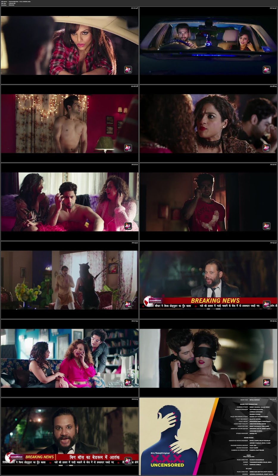 XXX UNCENSORED 2018 18+ AltBalaji Season 1 Complete 720p