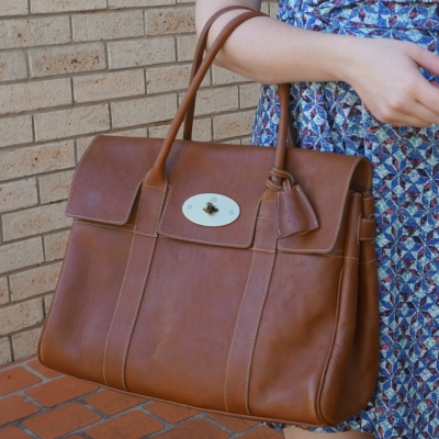 classic heritage Mulberry Bayswater in Oak NVT leather | awayfromtheblue