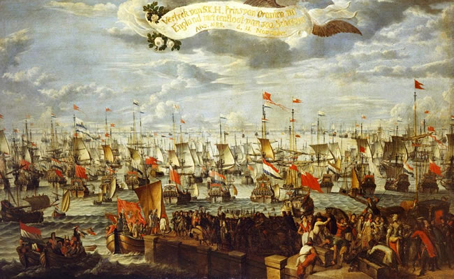 Embarkation of William III, Prince of Orange