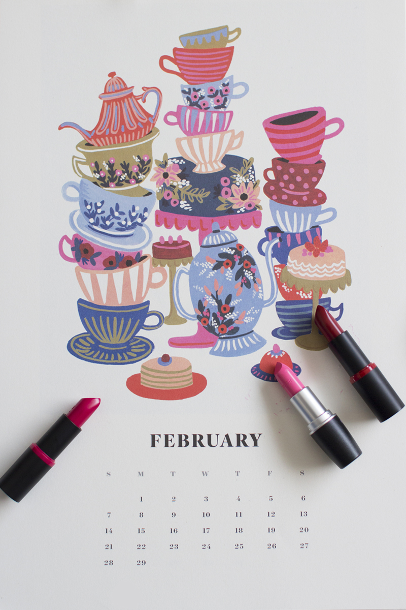 Rifle Paper Co. Calendar