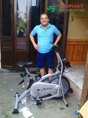 Xe đạp tập thể dục Air Bike Tài Phát.