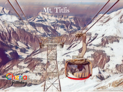 Mt. titlis Cheria travel