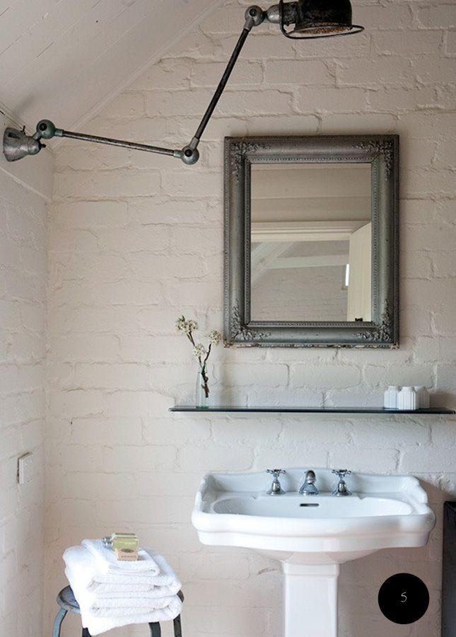 baño vintage indusrial