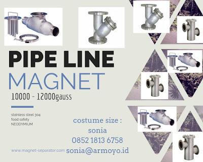 pipe linen magnet