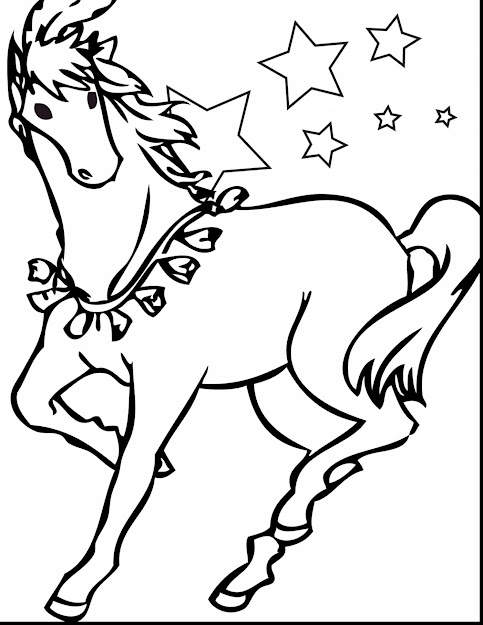 Terrific Printable Horse Coloring Pages With Free Horse Coloring Pages And Free  Horse Coloring Pictures