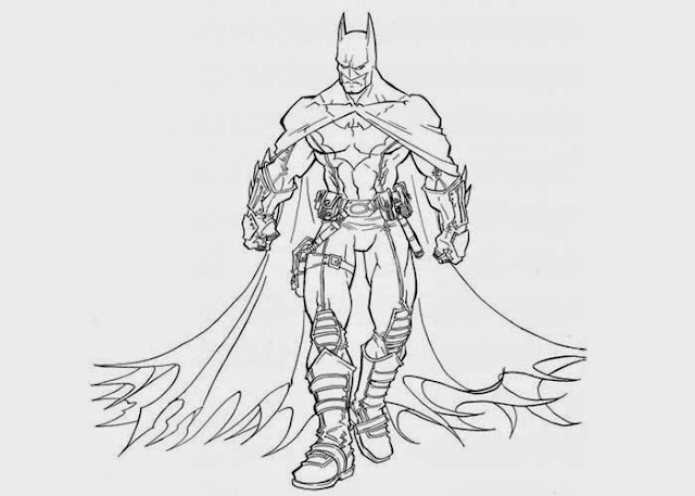 Batman coloring pages free coloring.filminspector.com