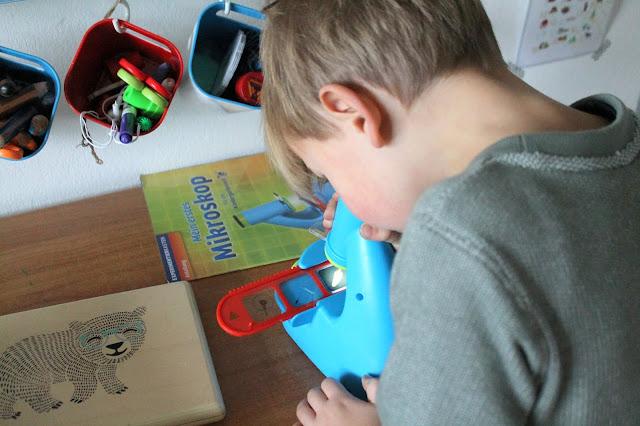 MINT Spielzeug tausendkind Geschenkideen Forscher Mikroskop Kindergartenkinder Jules kleines Freudenhaus 2