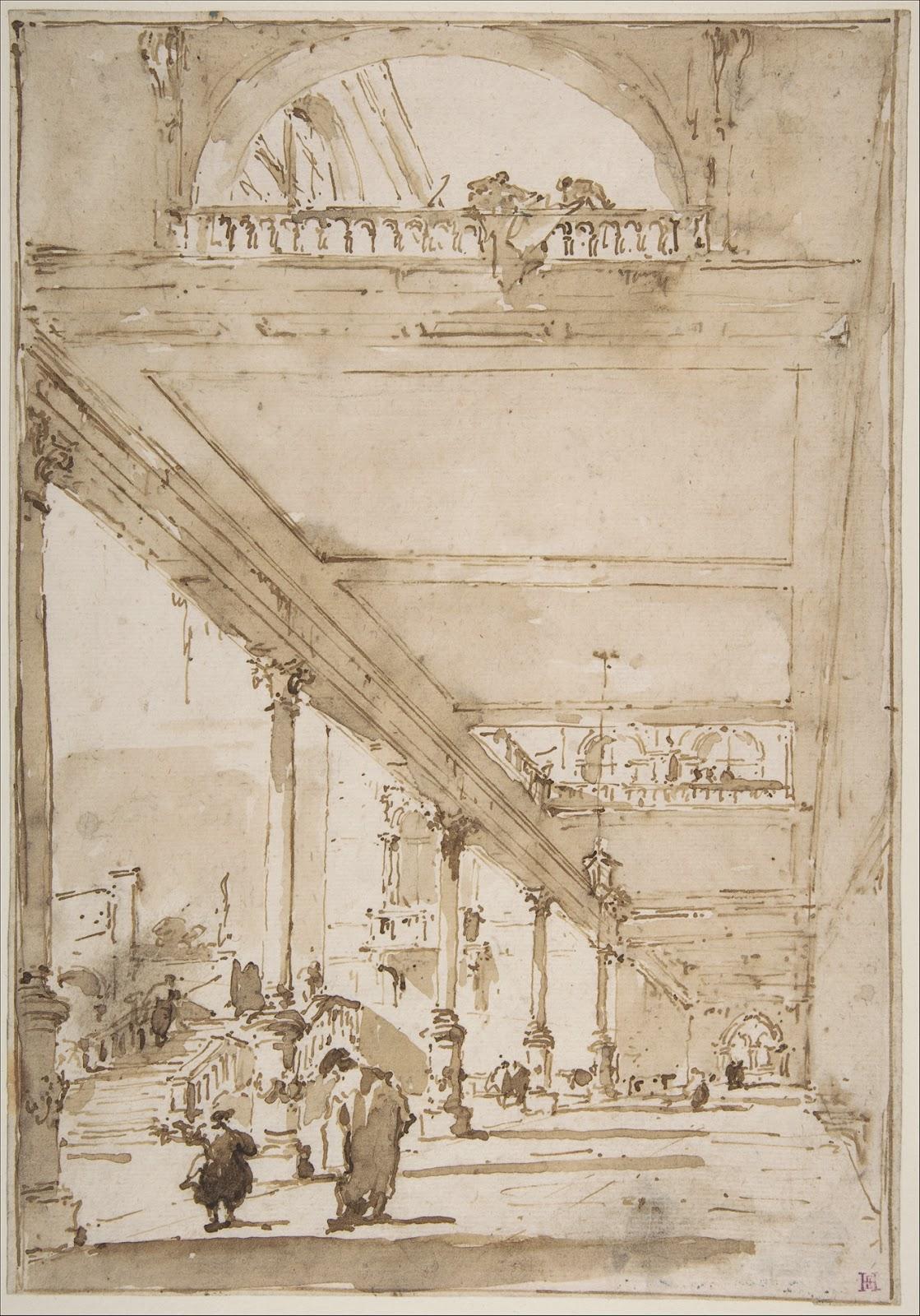 Francesco Guardi: Garret's Drawing A Day Blog: Francesco Guardi