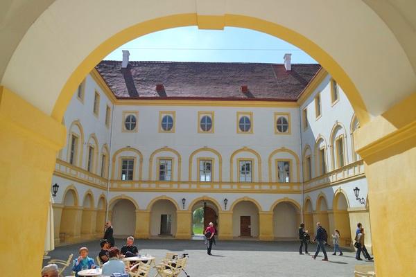 autriche basse-autriche schloss château hof