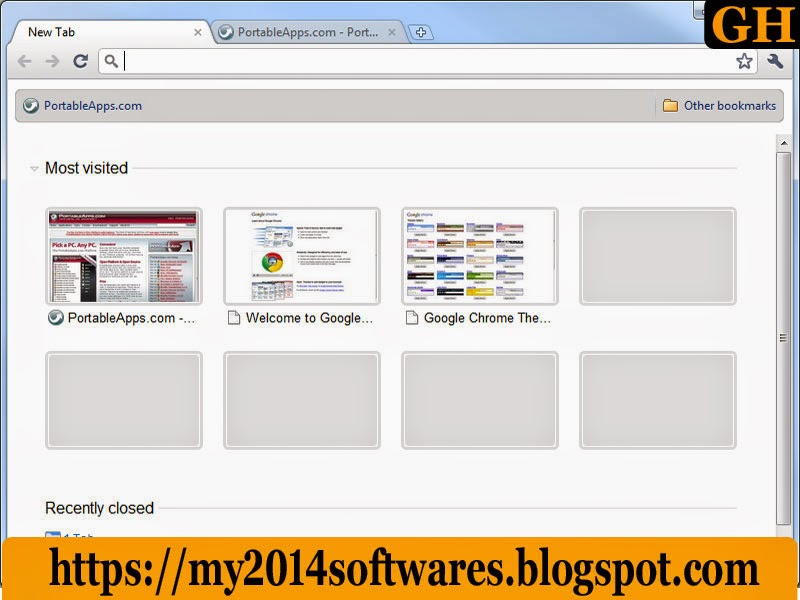 Google Chrome Portable 2014 Free Download « Free Download 2014 Softwares