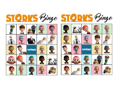 storks movie bingo