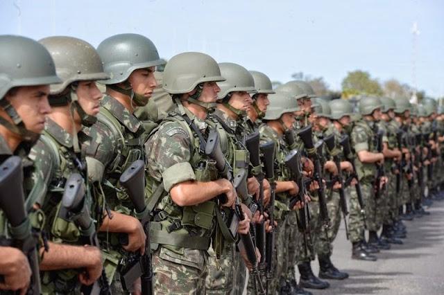 Resultado de imagem para Mais de 100 municípios no RN solicitam Forças Armadas nas eleições