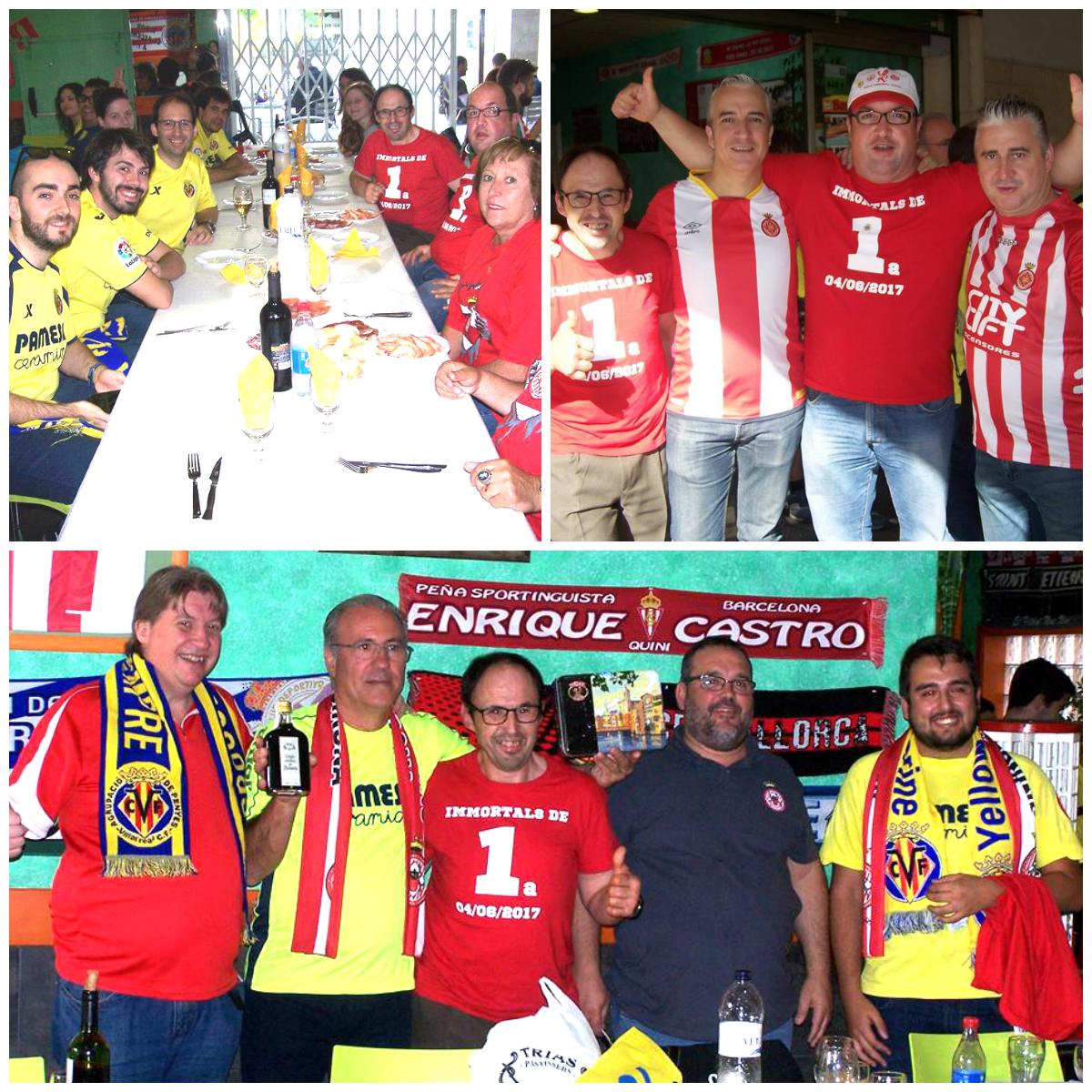 A més de representants de l Agrupació de Penyes del Villarreal CF i  penyistes arribats des de la localitat castellonenca 72a91300155