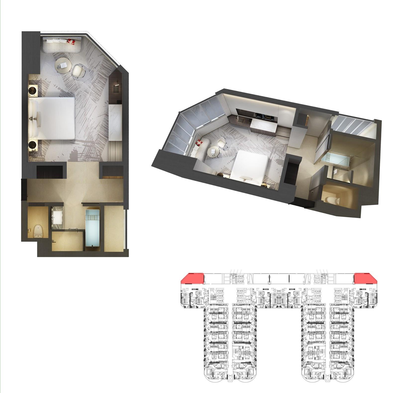 Thiết kế căn hộ số 8 Swisstouches La Luna
