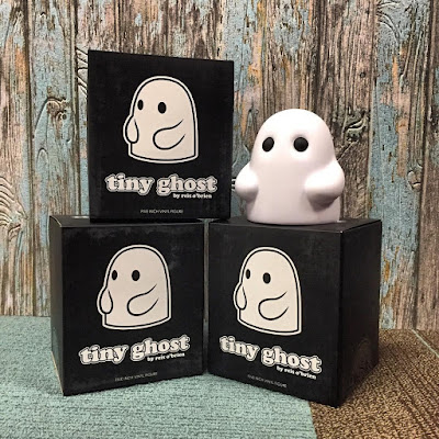 "Tiny Ghost 5"" Vinyl Figure by Reis O'Brien (of Bimtoy) x Bottleneck Gallery"