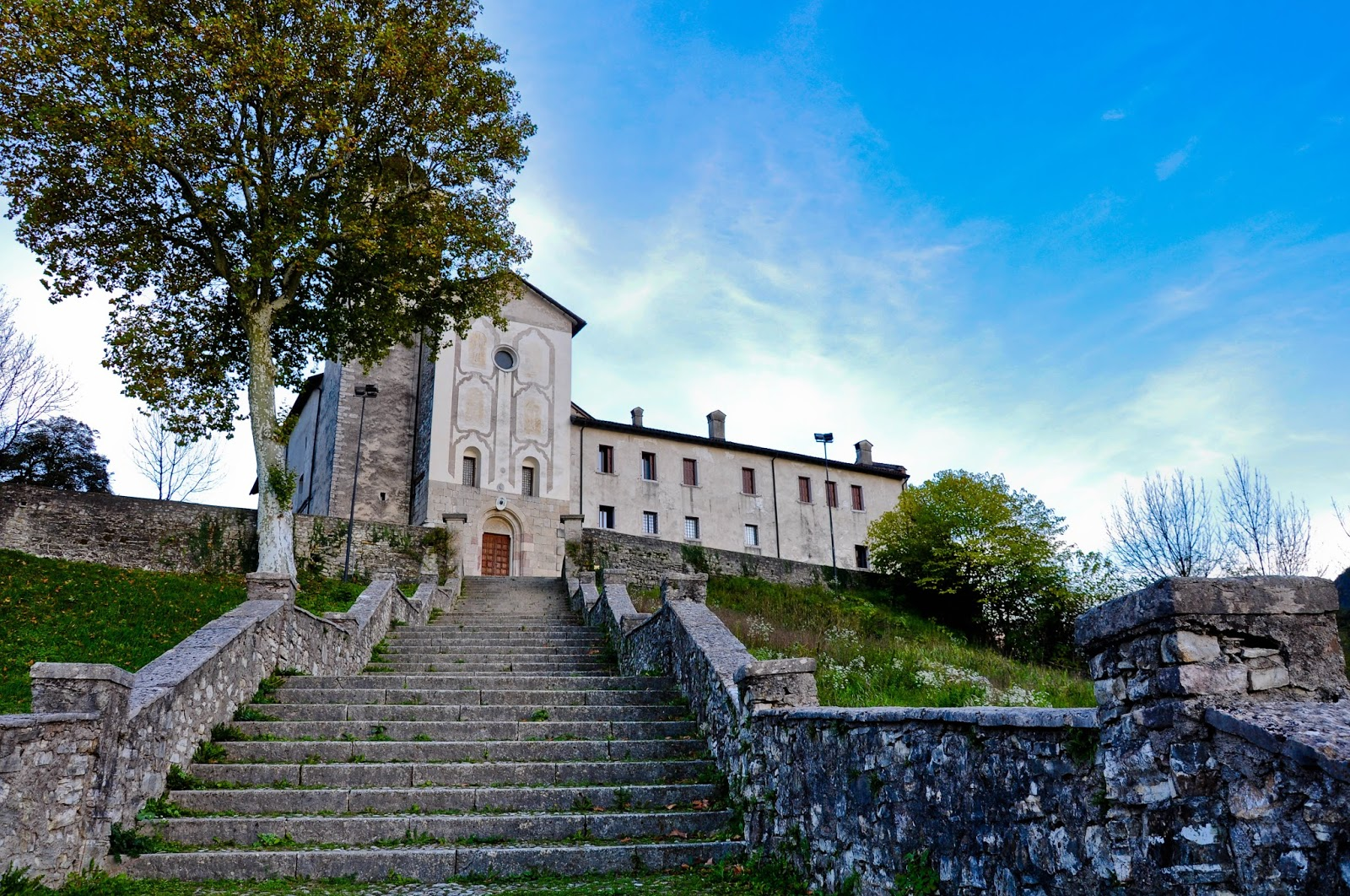 The Sanctuary of St. St. Vittore e Corona, Feltre, Veneto, Italy