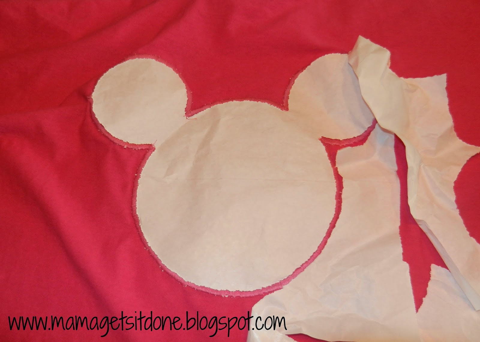 Applique Papier Mama Gets It Done Diy Mickey Mouse Applique Shirts