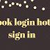 facebook login hotmail sign in