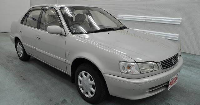 1998 Toyota Corolla To Botswana Japanese Vehicles To The World