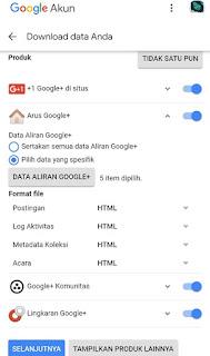 Cara Menyelamatkan Data-data di  Akun Google+ Yang Akan Segera Ditutup