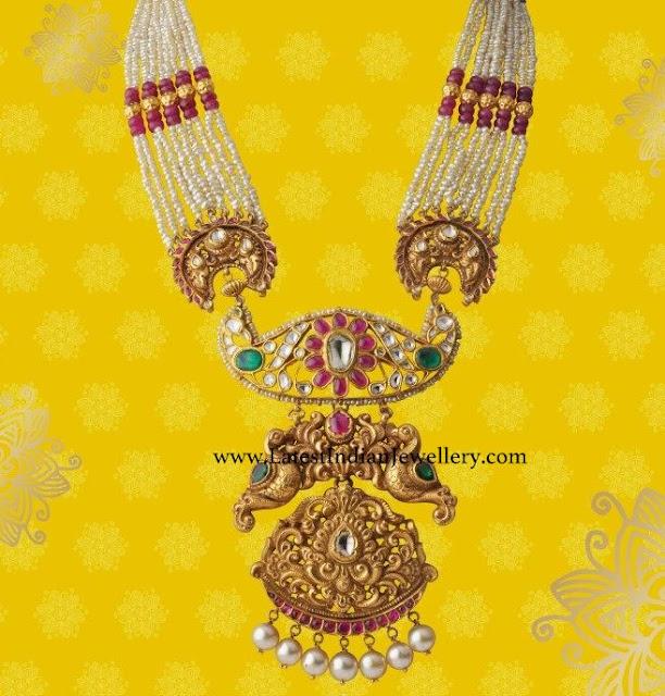 Heavy Gold Pendant Pearl Haram