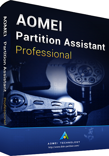 AOMEI Partition Assistant 8.0 poster box cover