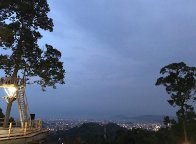 Wisata Baru Di Lampung Puncak Mas Sukadanaham | Bandar Lampung