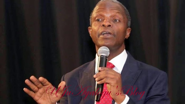 Osinbajo's Comment On Restructuring, Fake News – Presidency
