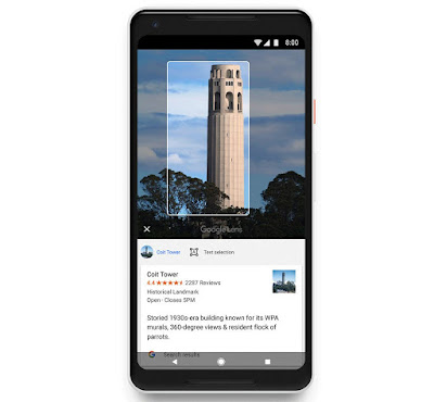 Google Lens Now available for all Android devices